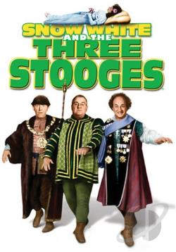 Snow White and the Three Stooges DVD Cover Art
