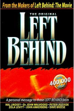 Original Left Behind DVD Cover Art