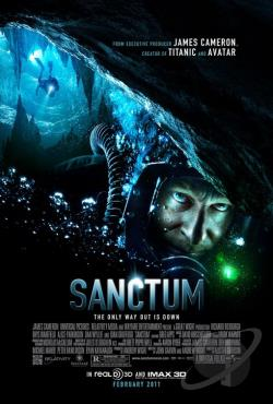 Sanctum DVD Cover Art