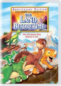 Land Before Time DVD Cover Art