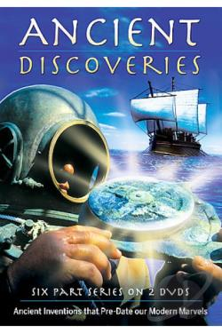 Ancient Discoveries DVD Cover Art