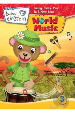 Disney Baby Einstein - Baby World Music DVD Cover Art