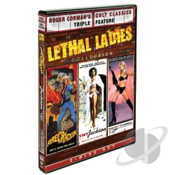 Roger Corman's Cult Classics: Lethal Ladies Collection DVD Cover Art