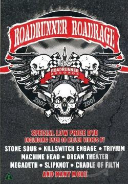 Roadrunner Roadrage 2007 (Pal/Region 2) DVD Cover Art