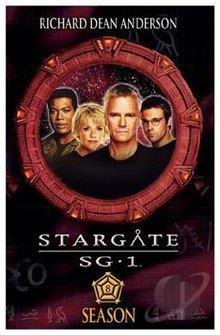 Stargate SG-1 - The Complete Eighth Season DVD Cover Art