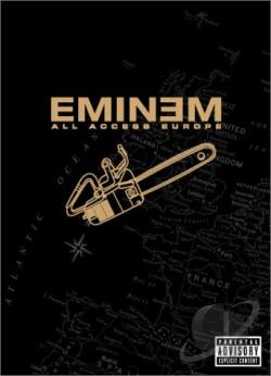 Eminem - All Access Europe DVD Cover Art