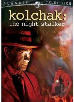 Kolchak: The Night Stalker DVD Cover Art