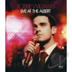 Robbie Williams - Live at the Albert BRAY Cover Art