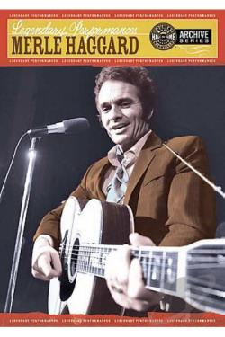 Merle Haggard - Legendary Performances DVD Cover Art