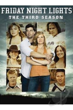 Friday Night Lights - The Complete Third Season DVD Cover Art