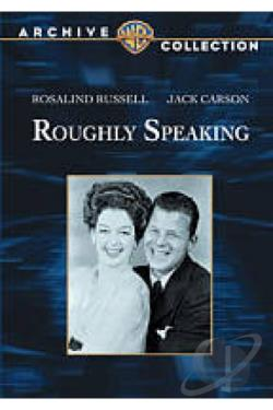 Roughly Speaking DVD Cover Art