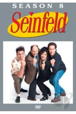 Seinfeld - The Complete Eighth Season DVD Cover Art