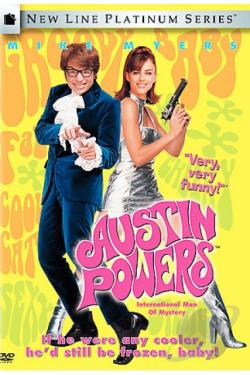 Austin Powers: International Man of Mystery DVD Cover Art