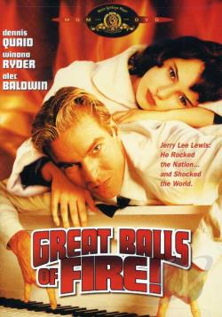 Great Balls of Fire DVD Cover Art