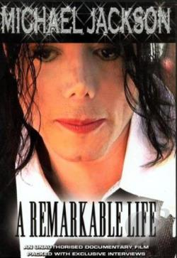 Michael Jackson - A Remarkable Life DVD Cover Art