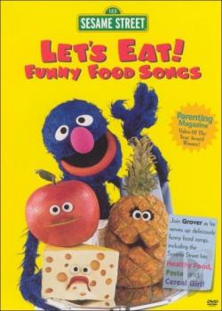 Sesame Street - Let's Eat! Funny Food Songs DVD Cover Art
