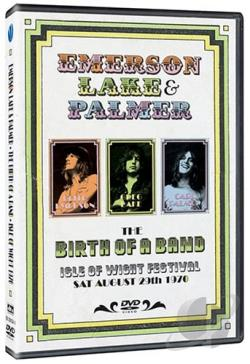 Emerson, Lake & Palmer - The Birth of a Band: Isle of Wight Festival DVD Cover Art