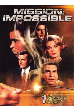 Mission Impossible - The Complete First Season DVD Cover Art