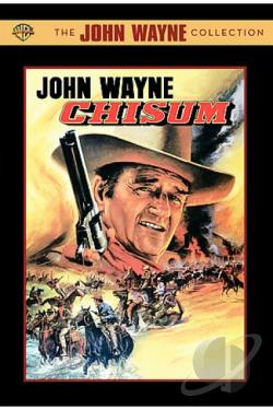 Chisum DVD Cover Art