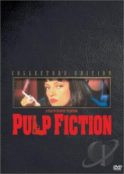 Pulp Fiction DVD Cover Art