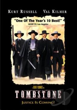 Tombstone DVD Cover Art