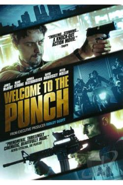 Welcome to the Punch DVD Cover Art