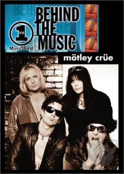 Motley Crue - VH1 Behind The Music DVD Cover Art
