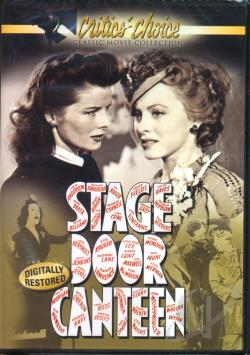 Stage Door Canteen DVD Cover Art
