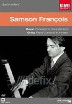 Samson Francois - Ravel: Concerto For The Left Hand/Grieg: Piano Concerto In A Minor DVD Cover Art