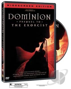 Dominion: Prequel to the Exorcist DVD Cover Art