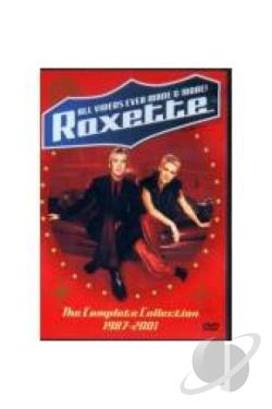 Roxette - All Videos Ever Made and More - Complete Collection DVD Cover Art