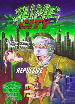 Slime City Double Feature DVD Cover Art
