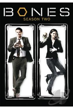 Bones - The Complete Second Season DVD Cover Art