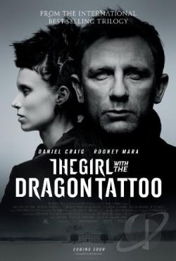 Girl With the Dragon Tattoo DVD Cover Art