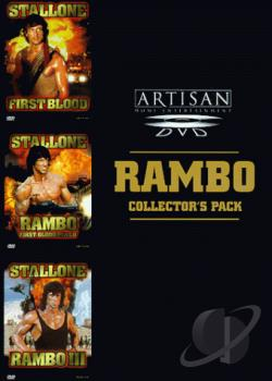 Rambo Collector's Pack DVD Cover Art