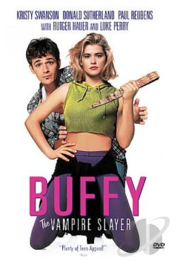 Buffy the Vampire Slayer DVD Cover Art