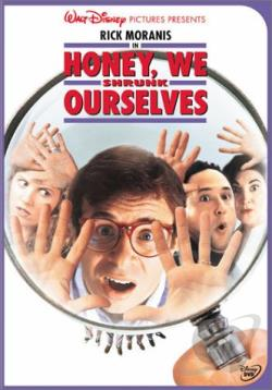 Honey, We Shrunk Ourselves DVD Cover Art