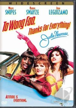 To Wong Foo, Thanks for Everything! Julie Newmar DVD Cover Art