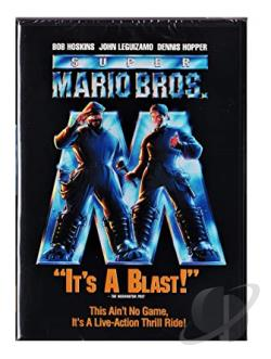 Super Mario Bros. DVD Cover Art
