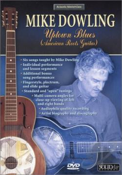 Mike Dowling - Uptown Blues DVD Cover Art
