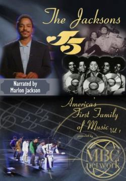 Jacksons, The - America's First Family of Music DVD Cover Art