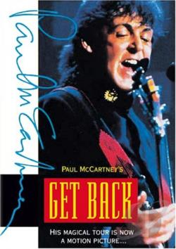 Paul McCartney's Get Back DVD Cover Art