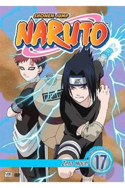 Naruto - Vol. 17: Zero Hour! DVD Cover Art