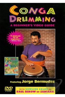 Jorge Bermudez: Conga Drumming - A Beginner's Video Guide DVD Cover Art