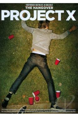Project X DVD Cover Art