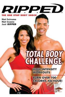 R.I.P.P.E.D. Total Body Challenge DVD Cover Art