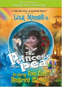 Faerie Tale Theatre - The Princess and the Pea DVD Cover Art