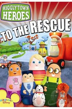 Higglytown Heroes: To The Rescue DVD Cover Art
