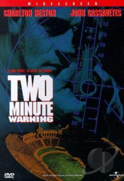Two Minute Warning DVD Cover Art