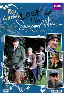 Last of the Summer Wine: Vintage 1990 DVD Cover Art